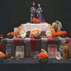 Our Dia de los Muertos ofrenda from 2015